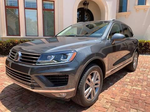 2015 Volkswagen Touareg for sale at Mirabella Motors in Tampa FL