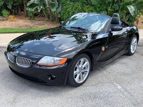 2003 BMW Z4 for sale at Mirabella Motors in Tampa FL