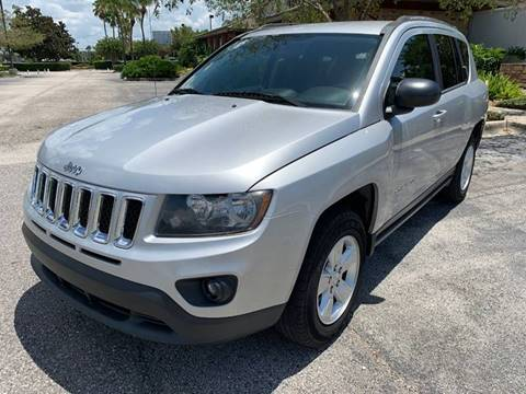 2014 Jeep Compass for sale at Mirabella Motors in Tampa FL