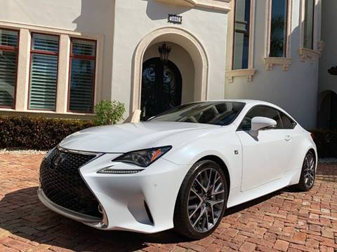 2015 Lexus RC 350 for sale at Mirabella Motors in Tampa FL