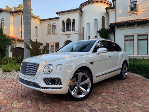 2018 Bentley Bentayga for sale at Mirabella Motors in Tampa FL