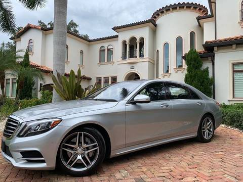 2016 Mercedes-Benz S-Class for sale at Mirabella Motors in Tampa FL