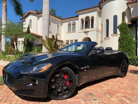 2012 Maserati GranTurismo for sale at Mirabella Motors in Tampa FL