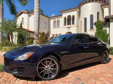 2014 Maserati Quattroporte for sale at Mirabella Motors in Tampa FL