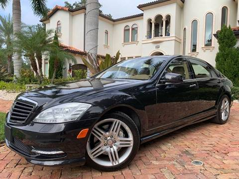 2013 Mercedes-Benz S-Class for sale at Mirabella Motors in Tampa FL