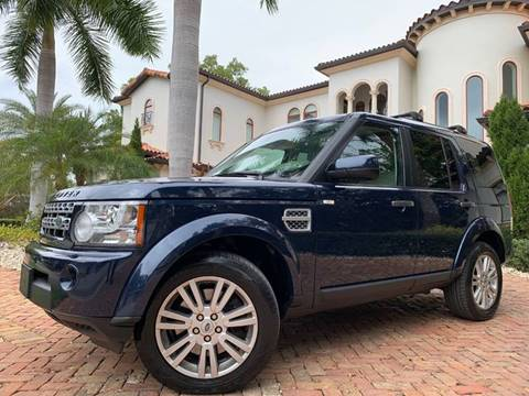 2012 Land Rover LR4 for sale at Mirabella Motors in Tampa FL
