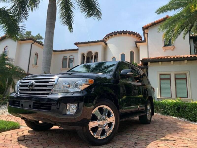 2013 Toyota Land Cruiser for sale at Mirabella Motors in Tampa FL