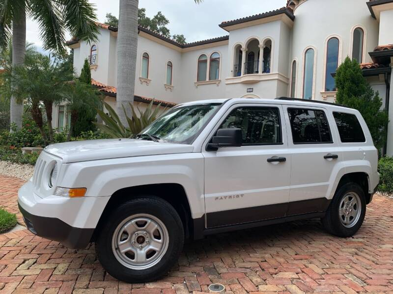 2014 Jeep Patriot for sale at Mirabella Motors in Tampa FL