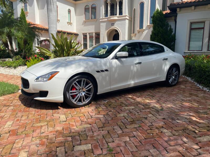 2016 Maserati Quattroporte for sale at Mirabella Motors in Tampa FL
