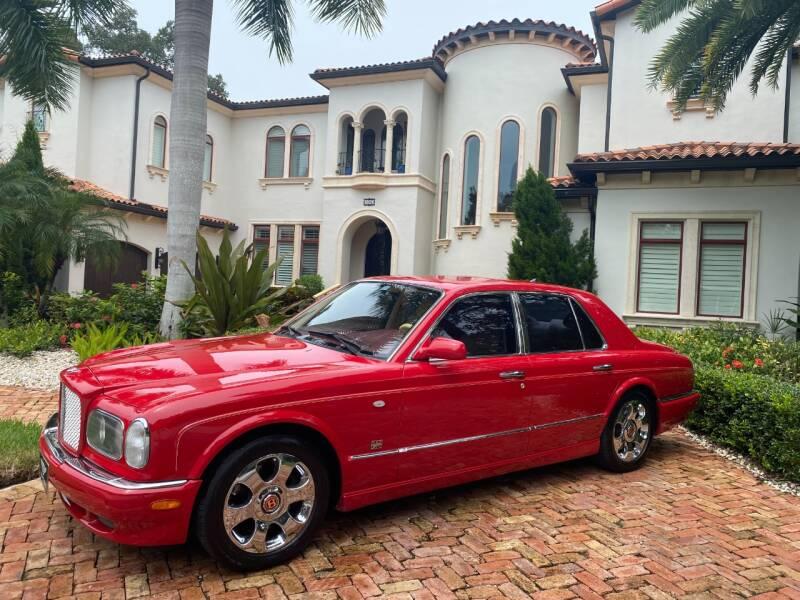 2001 Bentley Arnage for sale at Mirabella Motors in Tampa FL
