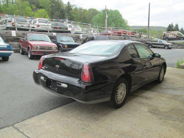 2002 Chevrolet Monte Carlo LS 2dr Coupe - Slatington PA