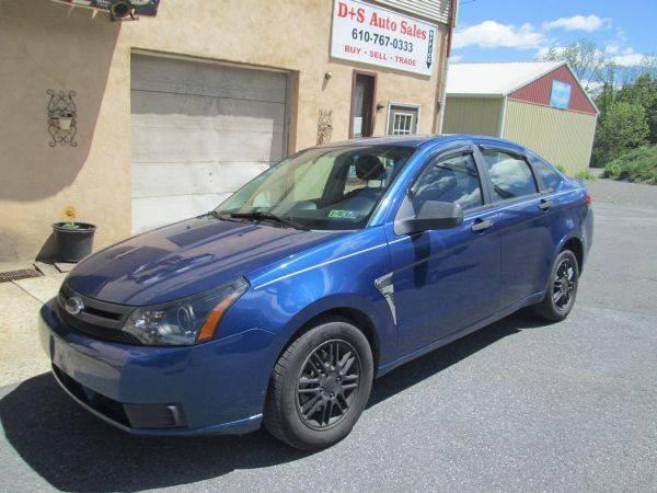 2008 Ford Focus SE 4dr Sedan - Slatington PA