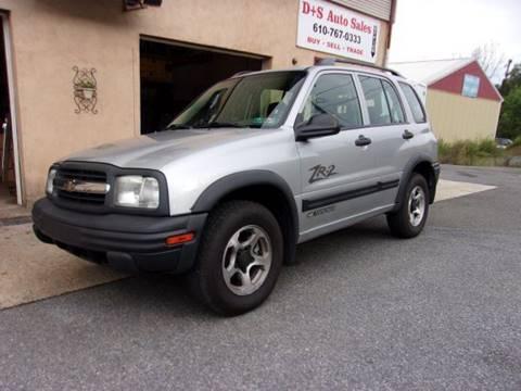 2003 Chevrolet Tracker for sale in Slatington, PA
