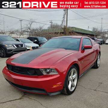 2010 Ford Mustang GT for sale at 321 DRIVE in Nashville TN