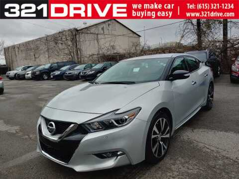 2018 Nissan Maxima 3.5 SV for sale at 321 DRIVE in Nashville TN