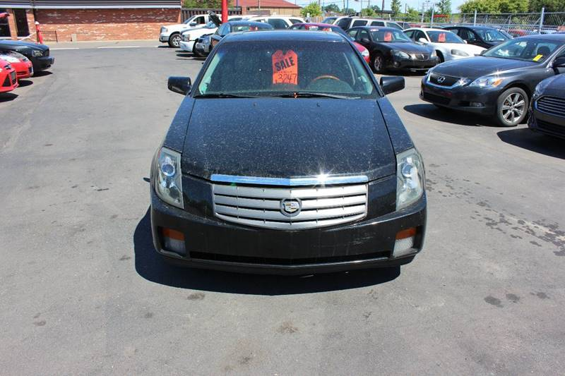 2003 Cadillac CTS for sale at BANK AUTO SALES in Wayne MI