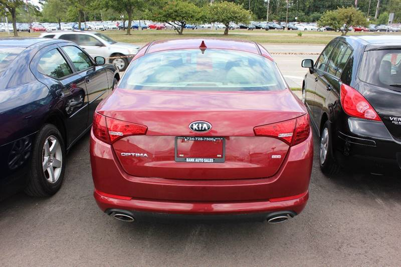 2013 Kia Optima for sale at BANK AUTO SALES in Wayne MI