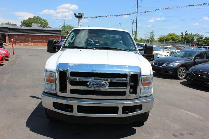 2010 Ford F-250 Super Duty for sale at BANK AUTO SALES in Wayne MI