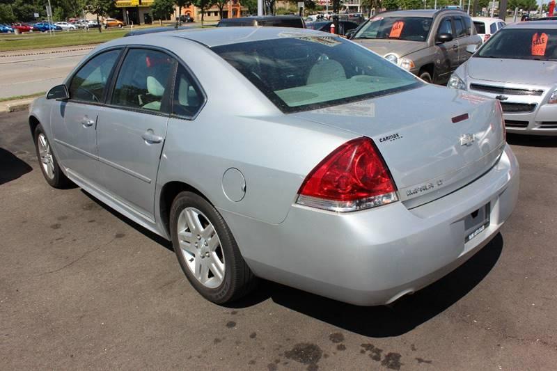 2012 Chevrolet Impala for sale at BANK AUTO SALES in Wayne MI