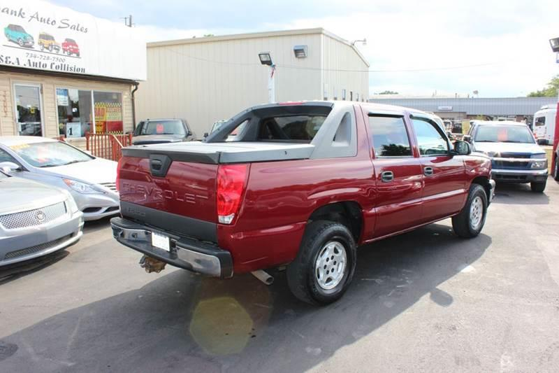 2006 Chevrolet Avalanche for sale at BANK AUTO SALES in Wayne MI