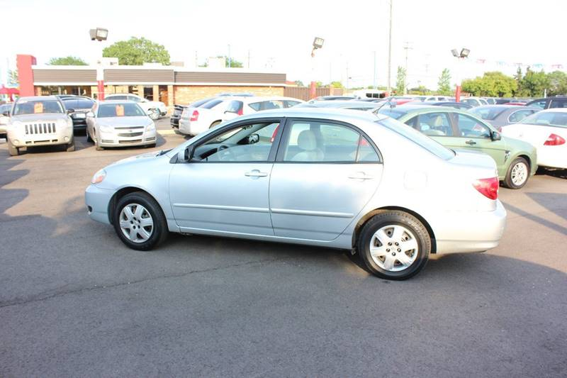 2008 Toyota Corolla for sale at BANK AUTO SALES in Wayne MI