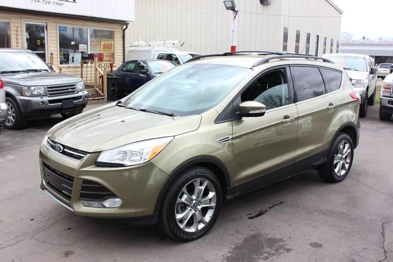 2013 Ford Escape for sale at BANK AUTO SALES in Wayne MI