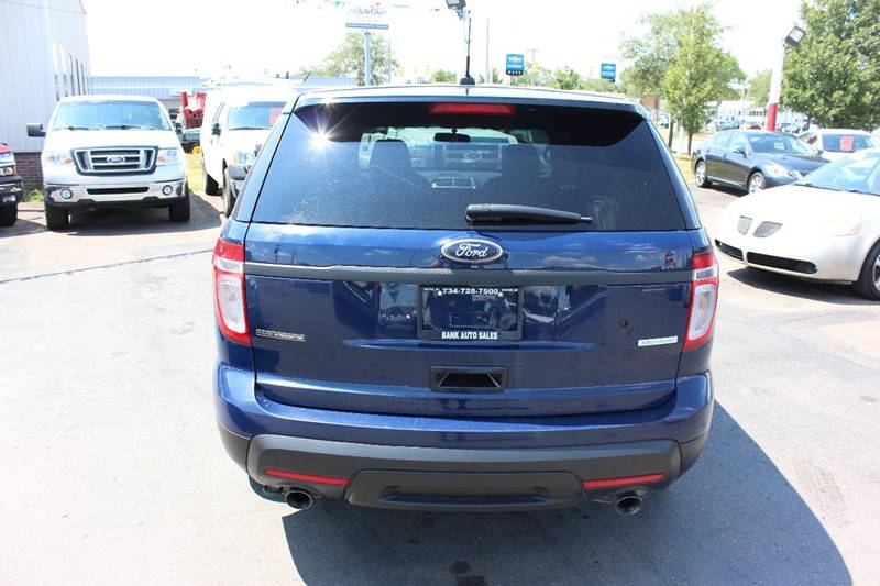 2015 Ford Explorer for sale at BANK AUTO SALES in Wayne MI