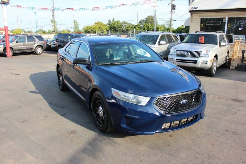 2013 Ford Taurus for sale at BANK AUTO SALES in Wayne MI