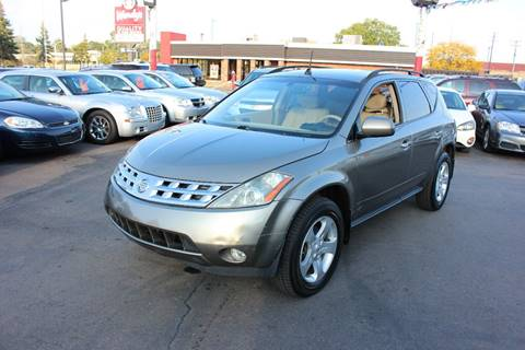 2004 Nissan Murano for sale at BANK AUTO SALES in Wayne MI