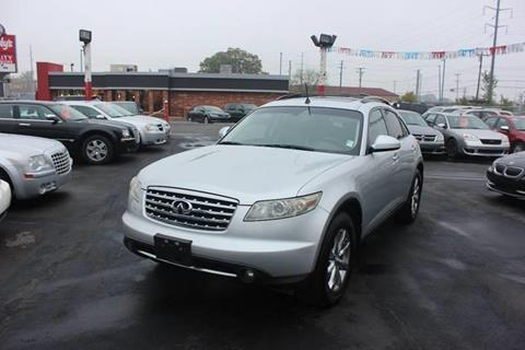 2008 Infiniti FX35 for sale at BANK AUTO SALES in Wayne MI