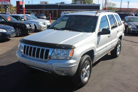 2004 Jeep Grand Cherokee for sale at BANK AUTO SALES in Wayne MI