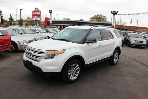 2013 Ford Explorer for sale in Wayne, MI
