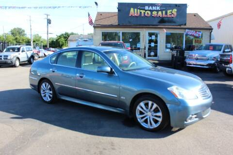2009 Infiniti M35 for sale at BANK AUTO SALES in Wayne MI