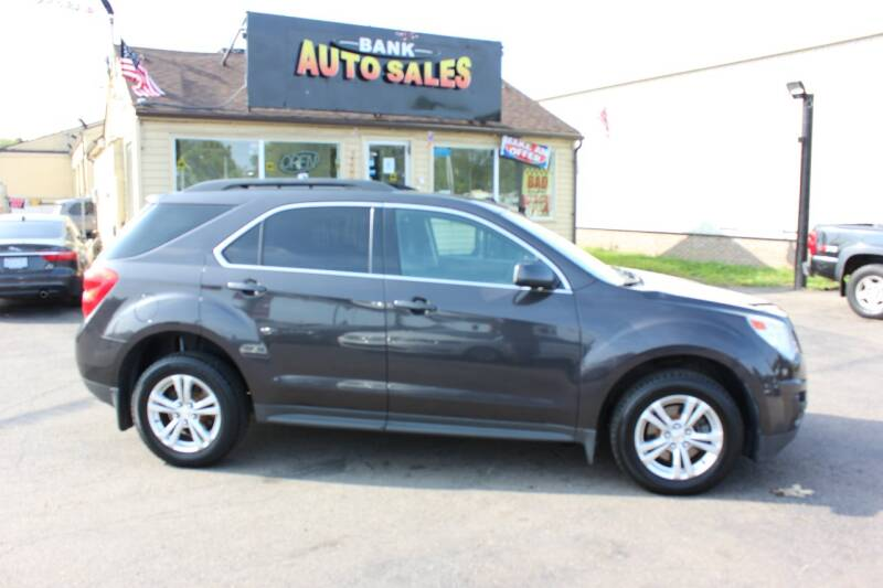 2015 Chevrolet Equinox for sale at BANK AUTO SALES in Wayne MI