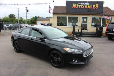 2016 Ford Fusion for sale at BANK AUTO SALES in Wayne MI