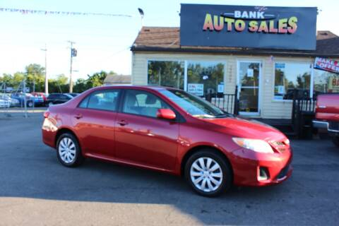 2012 Toyota Corolla for sale at BANK AUTO SALES in Wayne MI
