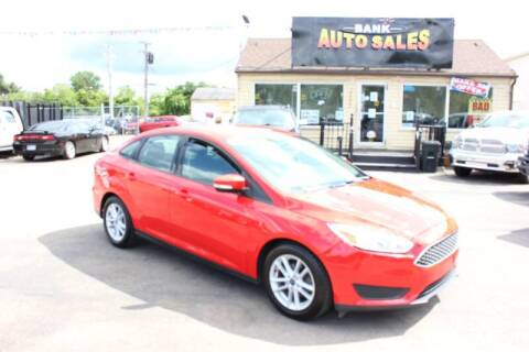 2017 Ford Focus for sale at BANK AUTO SALES in Wayne MI