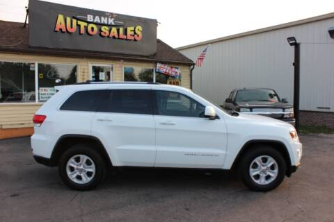 2015 Jeep Grand Cherokee for sale at BANK AUTO SALES in Wayne MI