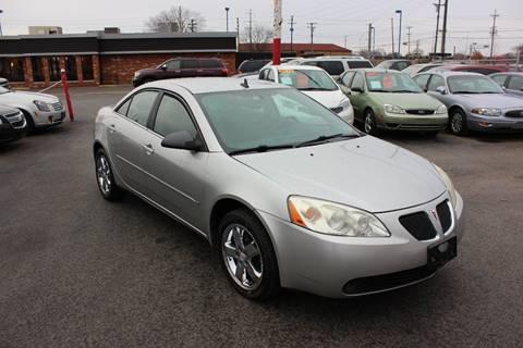 2008 Pontiac G6 for sale at BANK AUTO SALES in Wayne MI