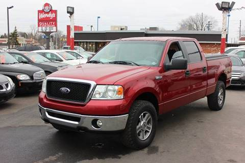 2007 Ford F-150 for sale at BANK AUTO SALES in Wayne MI