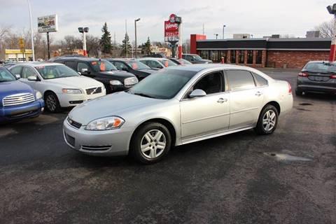 2010 Chevrolet Impala for sale at BANK AUTO SALES in Wayne MI