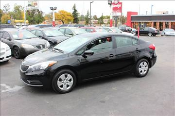 2015 Kia Forte for sale at BANK AUTO SALES in Wayne MI