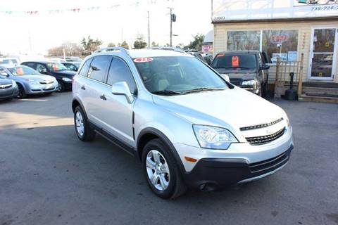 2013 Chevrolet Captiva Sport for sale at BANK AUTO SALES in Wayne MI