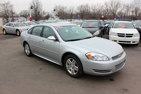 2012 Chevrolet Impala for sale at BANK AUTO SALES in Wayne MI