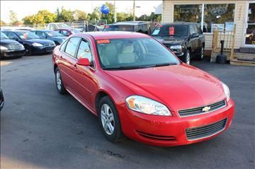 2009 Chevrolet Impala for sale at BANK AUTO SALES in Wayne MI