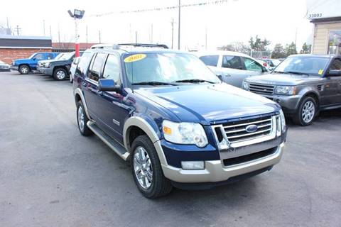 2007 Ford Explorer for sale at BANK AUTO SALES in Wayne MI