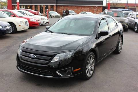 2012 Ford Fusion for sale at BANK AUTO SALES in Wayne MI