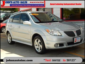 2006 Pontiac Vibe for sale in Des Moines, IA