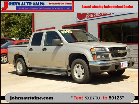 2005 Chevrolet Colorado for sale in Des Moines, IA
