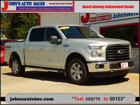 ford trucks for sale in des moines, ia - carsforsale